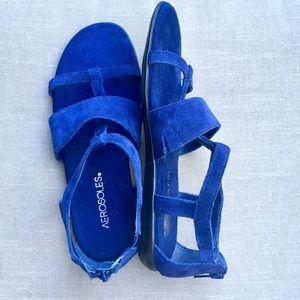 💥Aerosoles Gladiator Sandals Suede Size 7